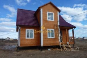 Дешевые дома из бруса цены