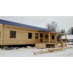 Индивидуальный проект одноэтажного дома 11.5х14.5м